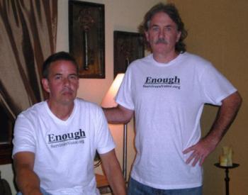 Założyciele stowarzyszenia Survivor's Voice — BernieMcDaid i Gary Bergeron